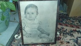 old baby picture in Cherry Point, North Carolina
