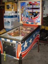 Pinball in Fort Polk, Louisiana