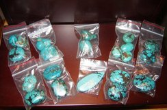 Large Turquoise Chunk Pendants in Ruidoso, New Mexico